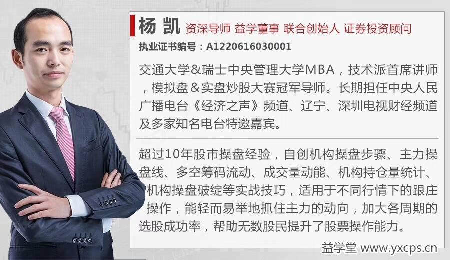 杨凯2018年6月晋级半年课