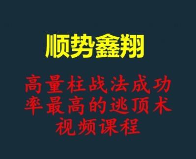 顺势鑫翔高量柱战法视频课程