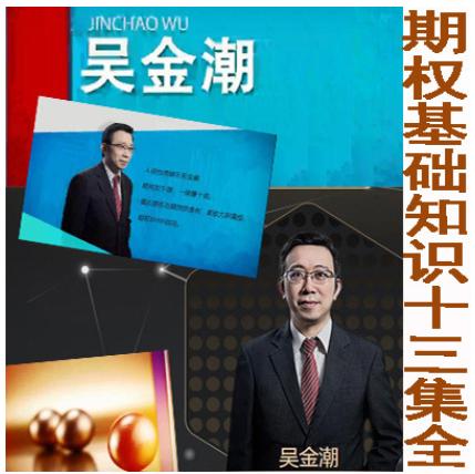 吴金潮期权基础知识13集