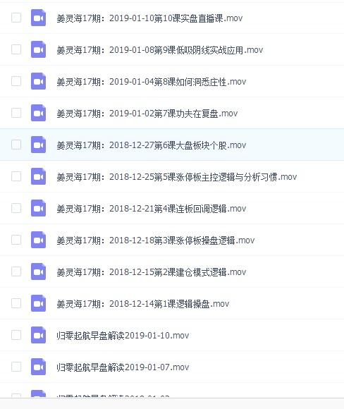 姜灵海2019年第17期19期视频课程