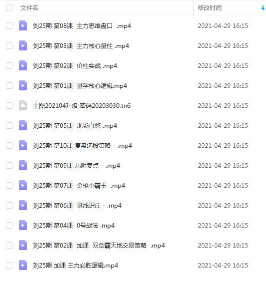 量学云讲堂刘智辉第25期